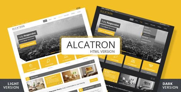 Alcatron A multipurpose responsive template