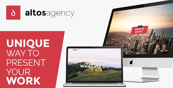Altos One Page Creative Agency HTML Template