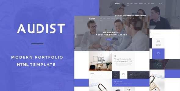 Audist Modern Portfolio HTML5 Template