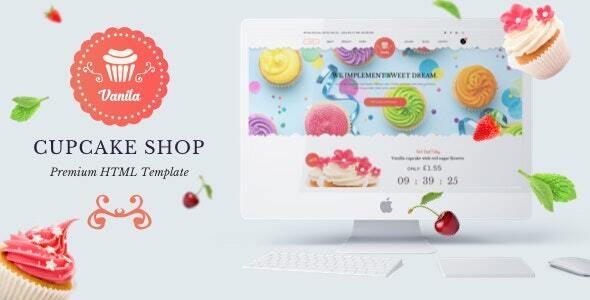 Bakery Cakery HTML5 Template