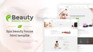 Beautyhouse Health & Beauty HTML Template