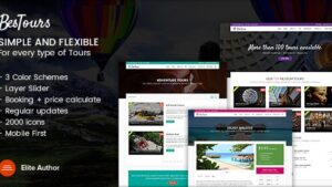 Bestours Excursions and Travel multipurpose template