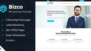 Bizco Business & Corporate HTML Template