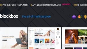 Blockbox Responsive Multipurpose HTML5 Template