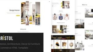 Bristol Interior Architecture Decor Furniture eCommerce HTML Template