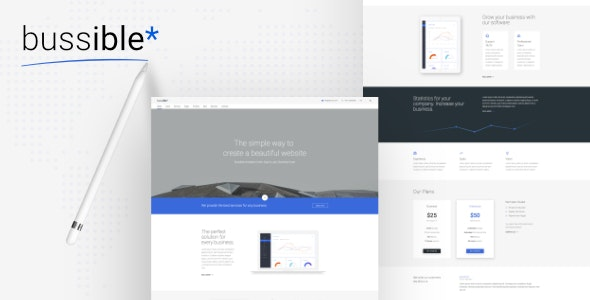 Bussible Soft Material Corporate Finance Startup HTML Template