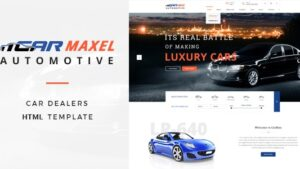Car Max Automotive HTML Template