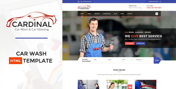 Car dinal Automotive HTML Template