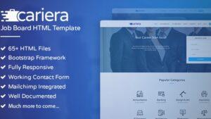 Cariera Job Board HTML Template
