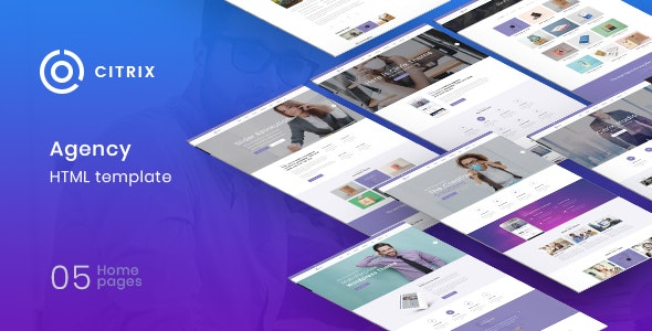 Citrix Agency Multipurpose HTML5 Template