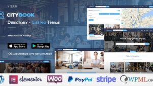 CityBook Directory Listing WordPress Theme