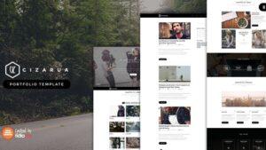 Cizarua Responsive One Page Portfolio HTML Template
