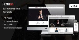 Clothing eCommerce Fashion Template