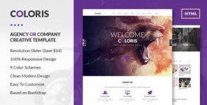 Coloris Premium Portfolio HTML Template