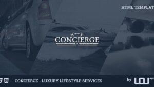Concierge Luxury Lifestyle Services HTML