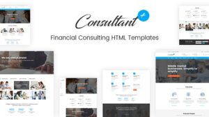 Consolution Financial Consulting HTML Templates
