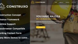 Construxo Construction HTML Template