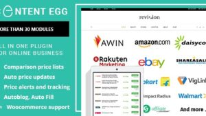 Content Egg all in one plugin for Affiliate Price Comparison Deal sites