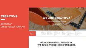 Creatova Bootstrap Agency Template