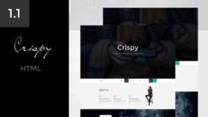 Crispy One & Multi Page HTML