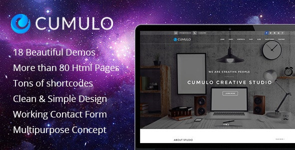 Cumulo Multipurpose HTML Theme