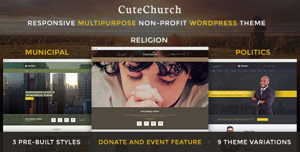 CuteChurch Religion Responsive HTML Theme