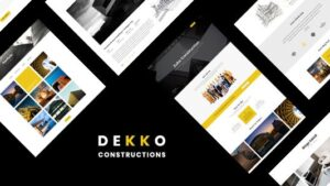 Dekko Construction HTML5 Template