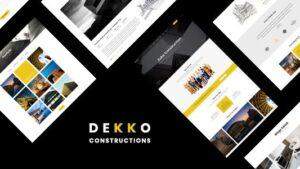 Dekko Construction HTML5 Template