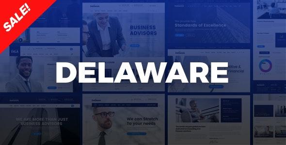 Delaware Corporate Company, Consulting HTML Template