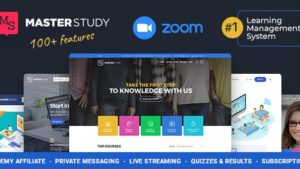 Education WordPress Theme Masterstudy