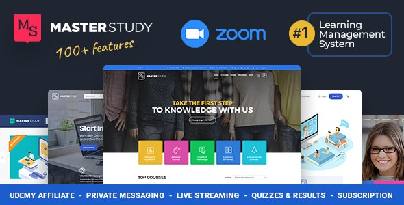 Education WordPress Theme Masterstudy