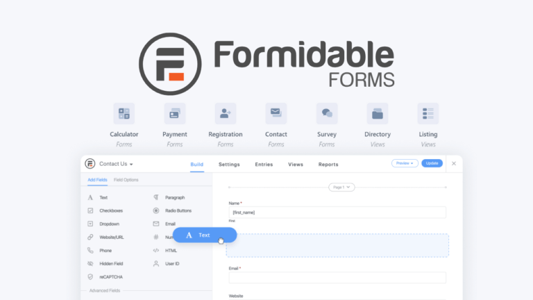 Formidable Forms Pro 4.05.02 Advanced WordPress Forms Plugin