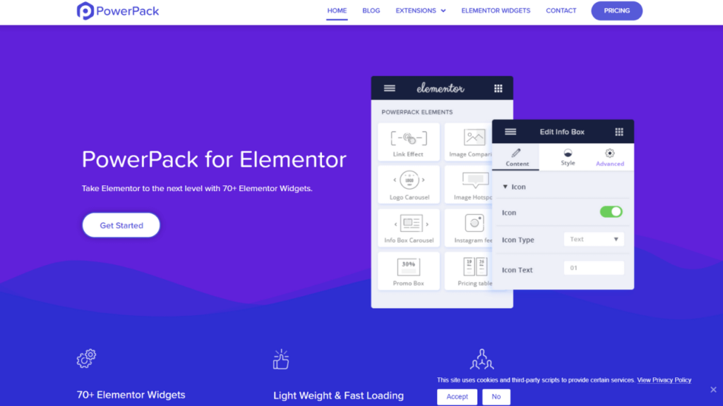 PowerPack Elements Addons & Widgets Addons for Elementor