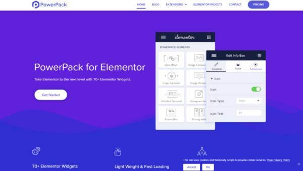 PowerPack Elements Addons & Widgets Addons for Elementor