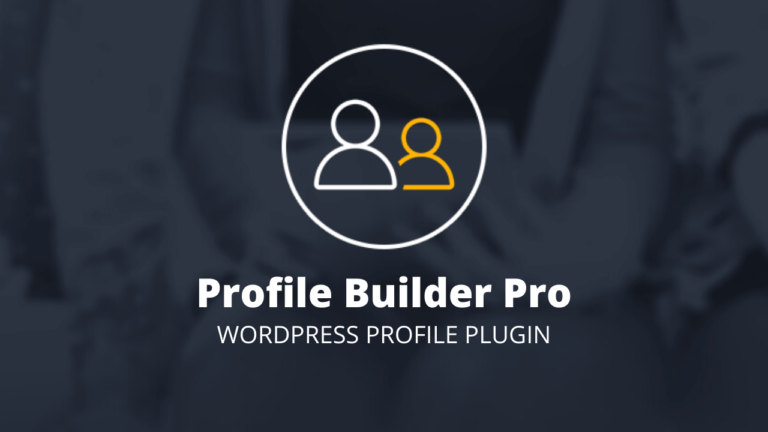 Profile Builder Pro Profile Plugin for WordPress