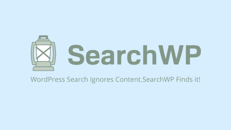 SearchWP nstantly Improve Your Site Search