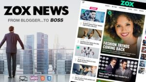 Zox News Professional WordPress News & Magazine Theme