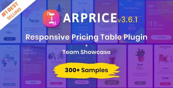 ARPrice WordPress Pricing Table Plugin