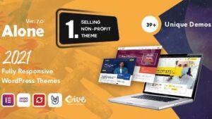 Alone Charity Multipurpose Non-profit Best WordPress Theme