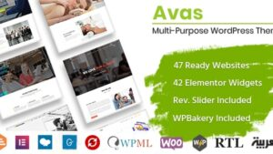 Avas Multi Purpose Best WordPress Theme