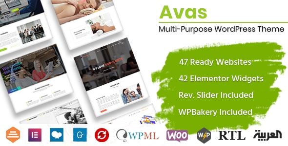 Avas Multi Purpose Best WordPress Theme