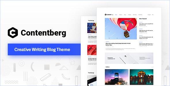 Contentberg Content Marketing & Personal Blog