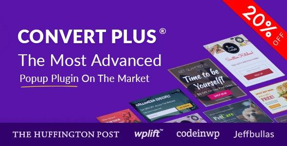 ConvertPlus Popup Plugin For WordPress