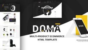 Dama Multi Store Responsive HTML Template