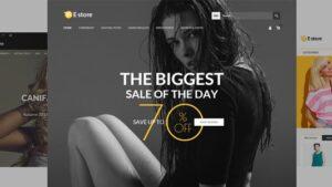 E-Store Responsive HTML Template