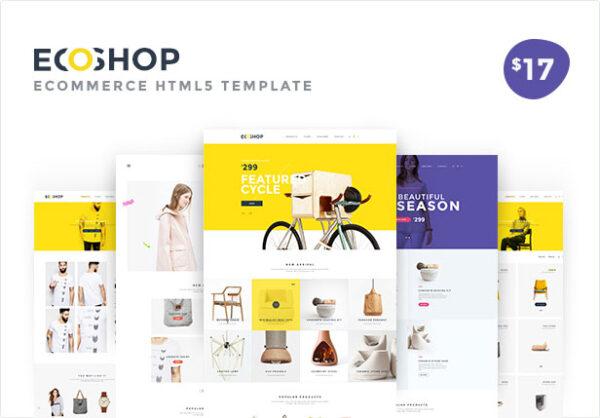 ECOSHOP Multipurpose eCommerce HTML5 Template