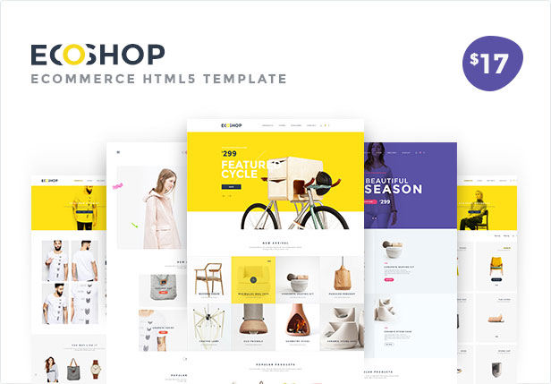 ECOSHOP Multipurpose eCommerce HTML5 Template