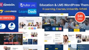 Edubin Education WordPress Theme