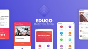 Edugo Education Mobile Template