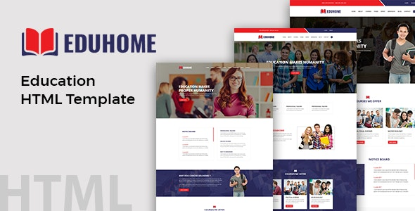 Eduhome Best Education HTML Template